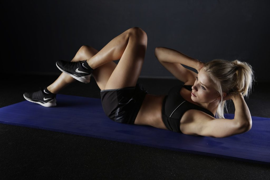 Side-lying double leg lifts